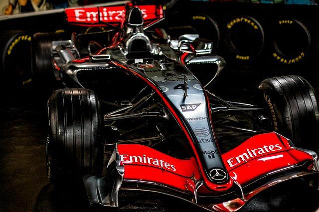 F1 McLaren bil